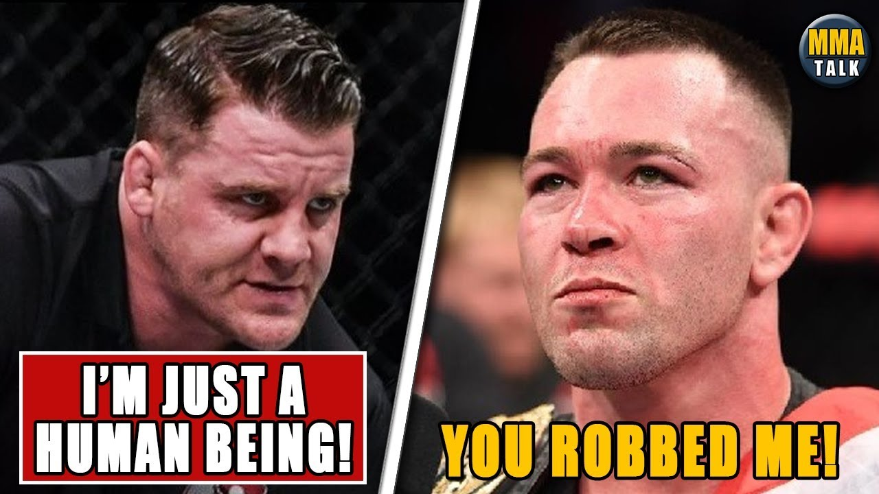 Referee Marc Goddard RESPONDS to Colby Covington, Masvidal BLASTS Colby, Askren exposes Usman