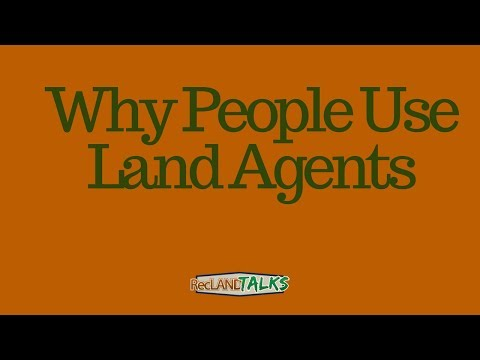 Why People Use Land Agents to Sell Rural Real Estate