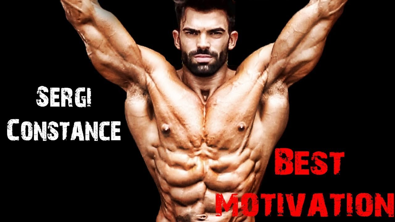 Sergi Constance Workout Motivation HD 2018