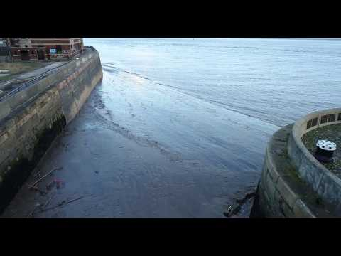 Lord Line Site Hull - St Andrews Quay Fishing Dock Drone Footage