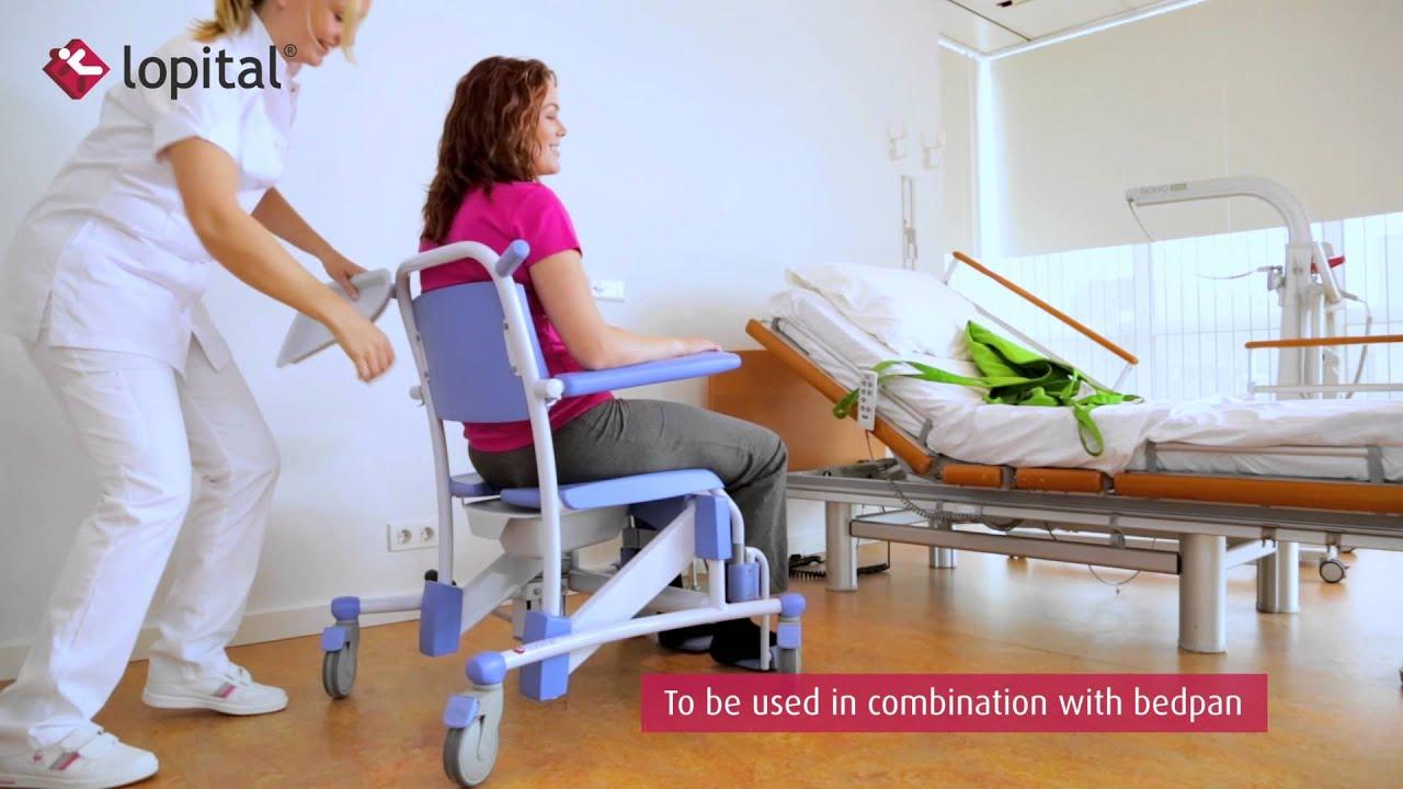 Lopital Instruction video Flexo hydraulic high low shower