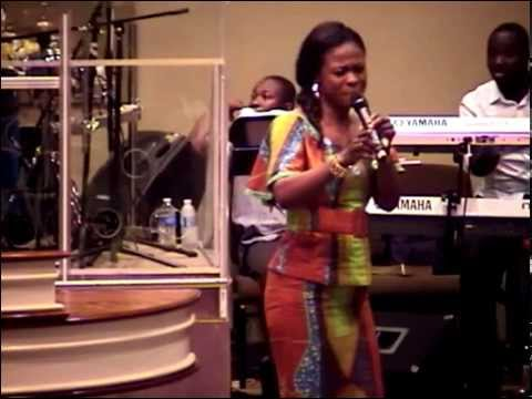 Evangelist Diana Asamoah at Assembly of God, Columbus