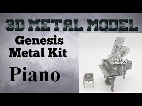 Genesis Metal Model Build - Piano