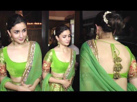 Alia Bhatt Beautiful In Traditional Dress Mp3