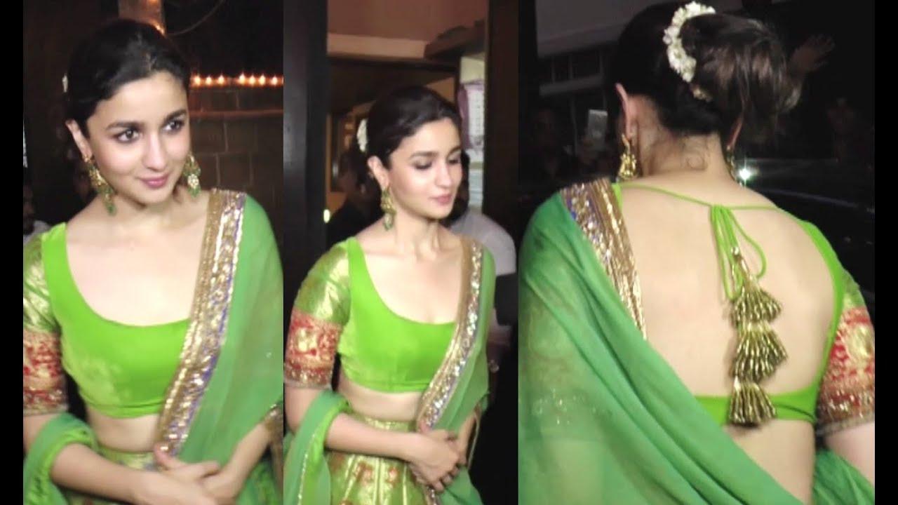 Alia Bhatt Beautiful In Traditional Dress Youtube A post shared by alia bhatt ☀️ (@aliaabhatt). alia bhatt beautiful in traditional dress