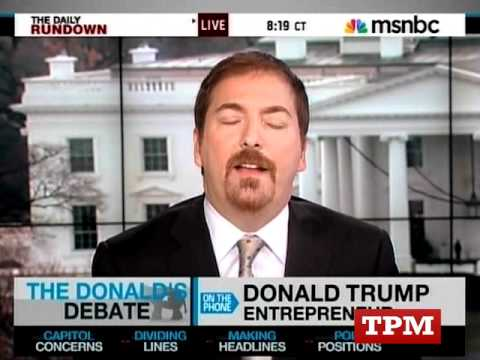 Donald Trump Unloads On NBC's Chuck Todd