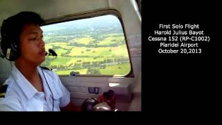 My First Solo Flight Cessna 152 Plaridel Airport