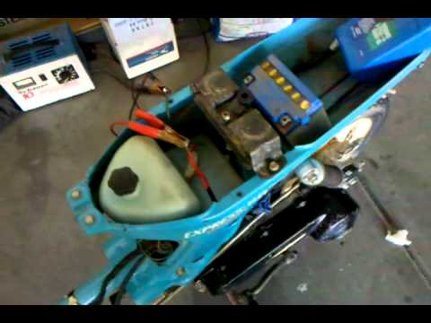 hqdefault 82 honda express nx50 first start off starter youtube 1980 honda express wiring diagram at edmiracle.co