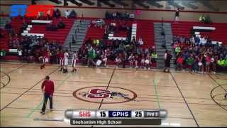 Snohomish vs Glacier Peak Girls Basketball