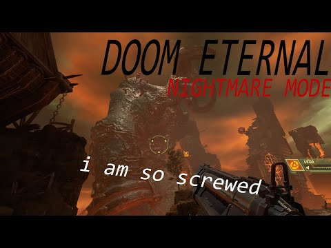 I shouldn't be playing this game...   DOOM Eternal  
