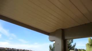 Solid Freestanding Patio Cover