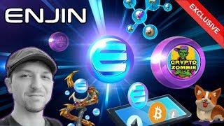 MASSIVE ENJIN Update! The FUTURE of Blockchain Gaming: ERC-1155s, EnjinX, Efinity 👾 $ENJ