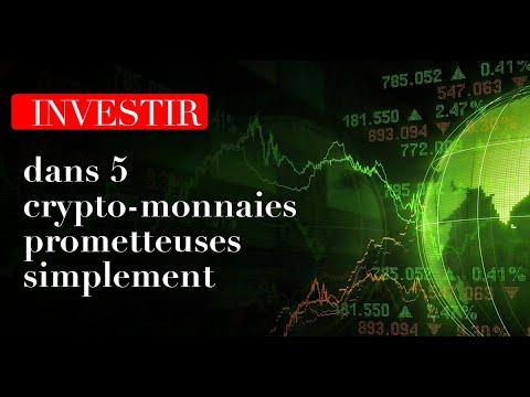 Investir dans 5 crypto-monnaiesprometteuses simplement avec Jonathan Nowak (Rediffusion)