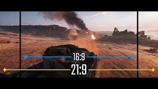 Battlefield V Ultrawide vs. Widescreen (16:9 vs 21:9 Aspect Ratio)