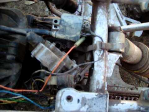 Yamaha Blaster Tors System Removal