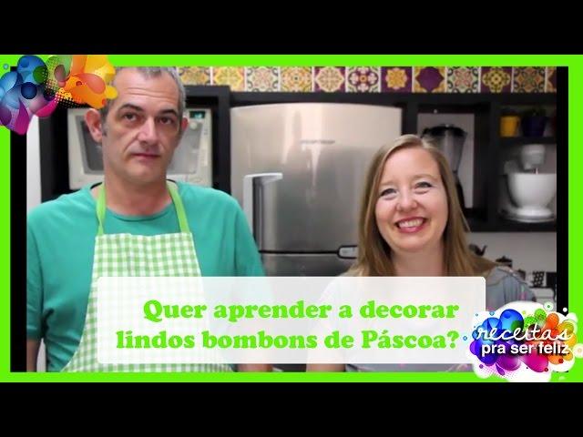 Quer aprender a decorar lindos bombons de Páscoa?