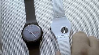 Swatch New Gent / Rebel collection video review.