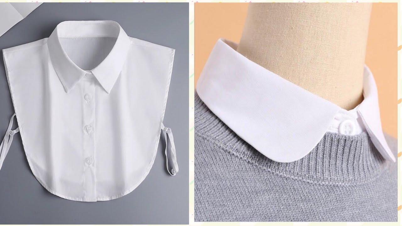 Design a Shirt Collar Pattern - A Convenient Fashion Accessory Model