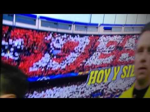 Atletico Madrid - Chelsea himno champions league