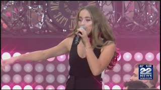 Brynn Cartelli performed on Today Show plaza Mp3