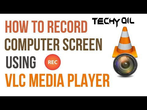 How to Record your desktop screen with audio by using VLC Media Player | Malayalam