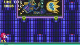 Sonic 3 Knuckles Hidden Palace Zone Sonic Vs Knuckles