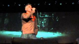 """Morrissey - """"I'm Not a Man"""" (live in Istanbul)"""