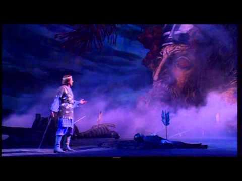 ДЕЙСТВИЕ II, Картина 3 Руслан забирает меч у Головы