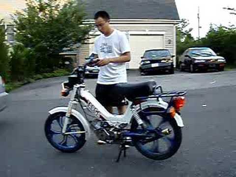 Moped For Sale >> Tomos Targa Demo - YouTube