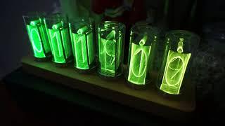 DESIGN RGB 빈티지 앤틱 진공관 라이트 탁상시계