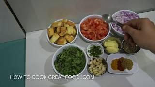 ???????? Indian Tofu Vegan Curry Recipe