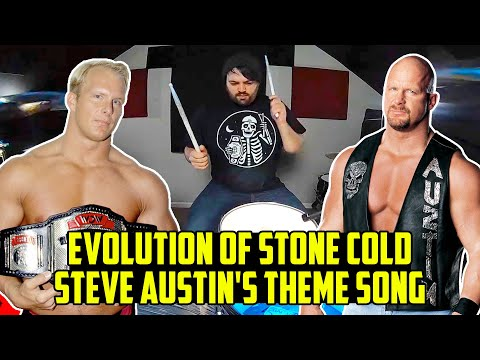 The Evolution Of Stone Cold Steve Austin WWE Theme Song