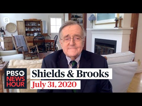 Shields and Brooks on Biden's VP decision, pandemic economy