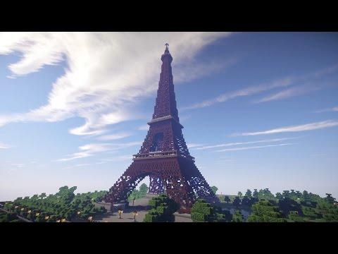 Minecraft: DEVASA YAPILAR #1 - EYFEL KULESİ!