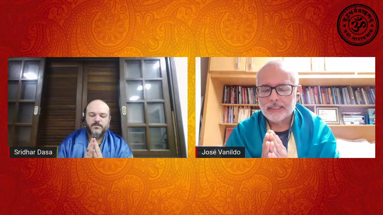 28/02/21 Yoga Sandhya - Servidores: Sridhar Dasa/ José Vanildo