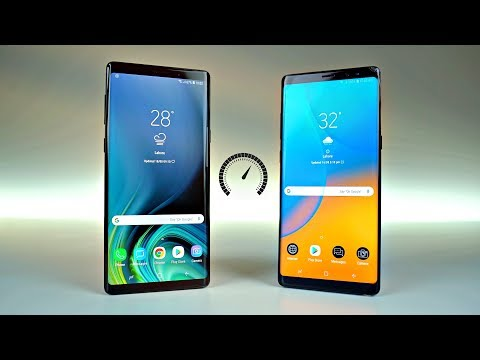 Samsung Galaxy Note 9 vs Note 8 - Speed Test!