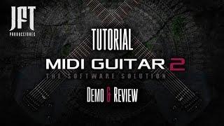 TUTORIAL: Usar la guitarra como controlador MIDI usando el plugin MIDI Guitar 2