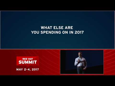 Paul Cormier at Red Hat Summit 2017: Cloud-native apps in a hybrid world