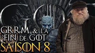 GRRM & la fin de Game of Thrones Saison 8