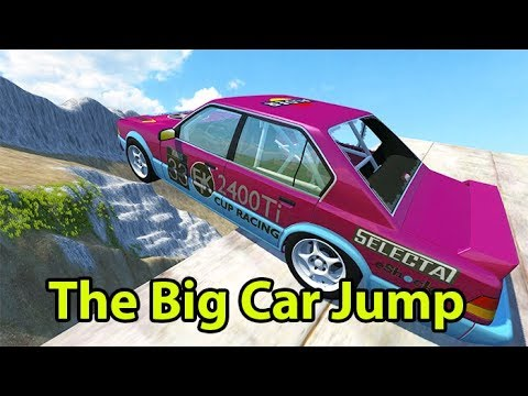 Beamng Drive - The Best Jump Contest Which Car Did You Think That Won?