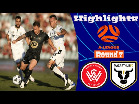 Macarthur FC Western Sydney Wanderers Goals And Highlights