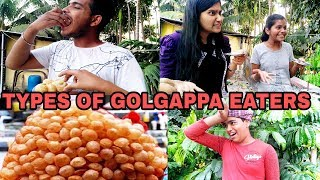 Types Of Golgappa Eaters - Prince Ka Pitara