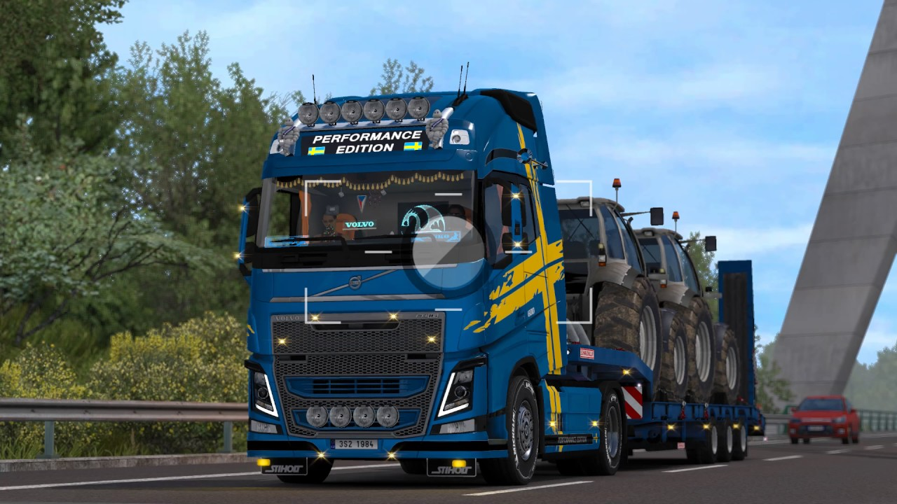 ets2 volvo fh16 600 clermont ferrand limoges youtube