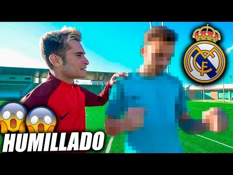 HUMILLADO POR UN JUGADOR DEL REAL MADRID CF