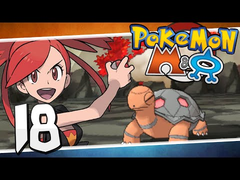 Pokémon Omega Ruby And Alpha Sapphire - Episode 18 | Lavaridge Gym Flannery!