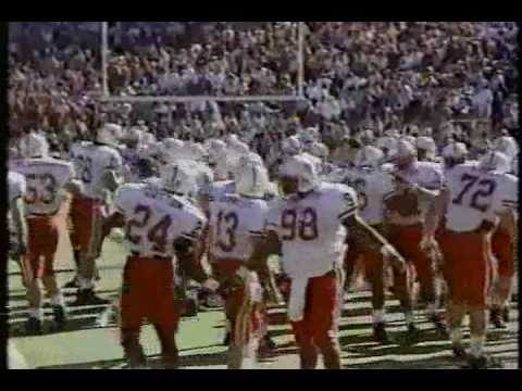 #10 Nebraska Cornhuskers at Oklahoma Sooners - 1990 - Football - CBS Pre-game