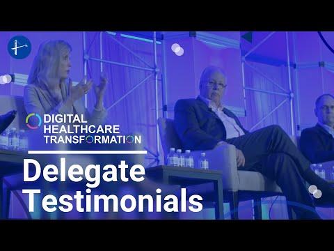 Digital Healthcare Transformation Delegate Testimonials
