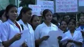 "V M MEDICAL COLLEGE, SOLAPUR MBBS ""gandhigiri"" news"