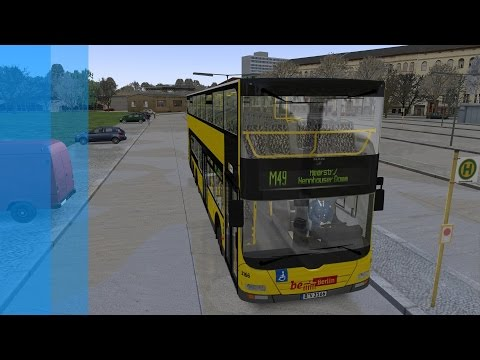 OMSI: 2 - Route M49 [AI Route] X10-Berlin |