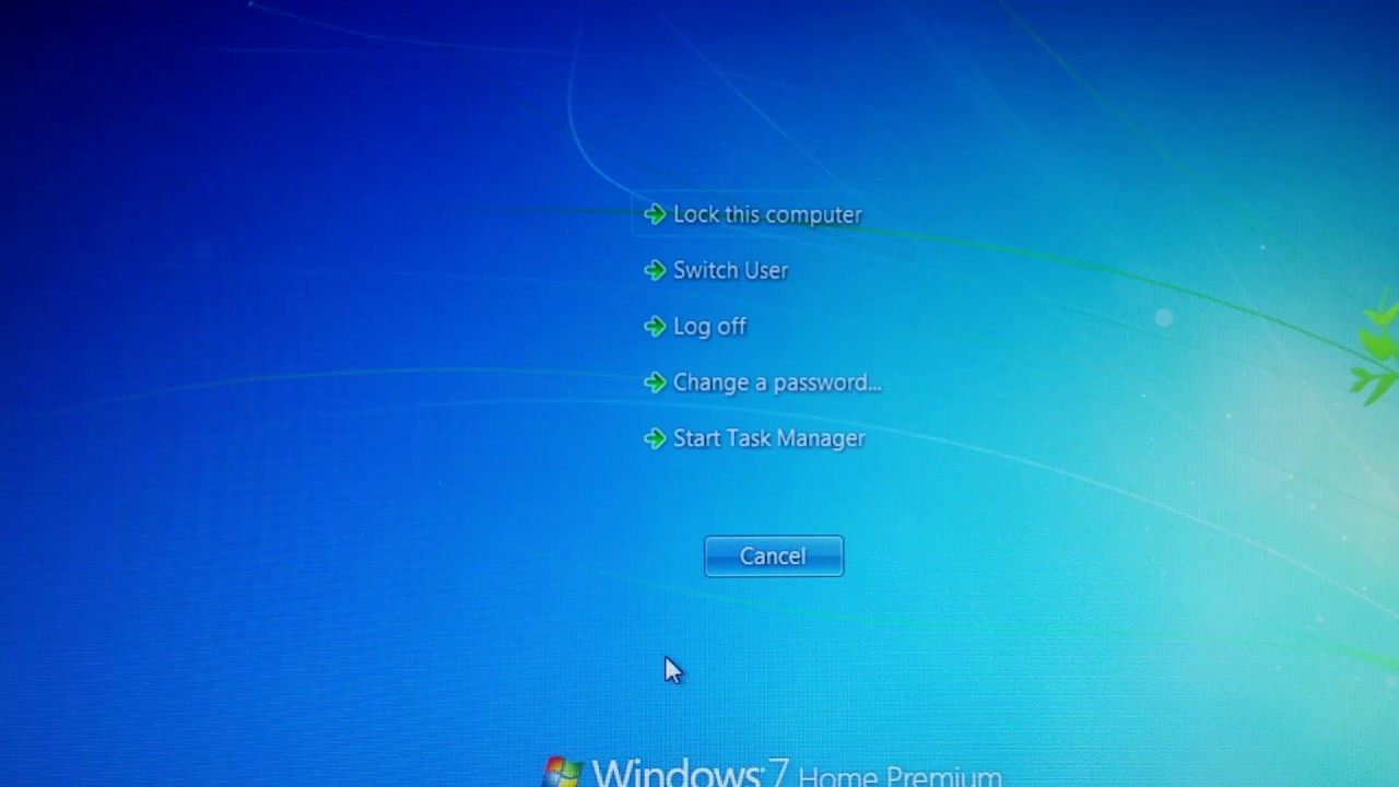 control alt delete mac windows 7